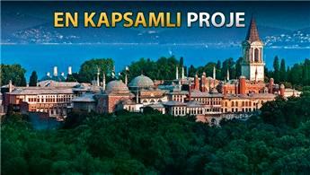 Topkapı Sarayı'na 220 milyon TL'lik restorasyon!