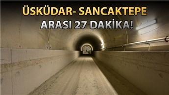 Üsküdar-Çekmeköy metrosunun ilk seferi yarın!
