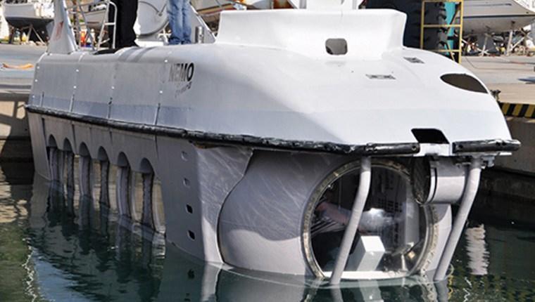 Turistik denizaltı Nemo Primeroo ile su altına yolculuk!