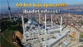Çamlıca Camisi, yıl sonunda ibadete açılacak