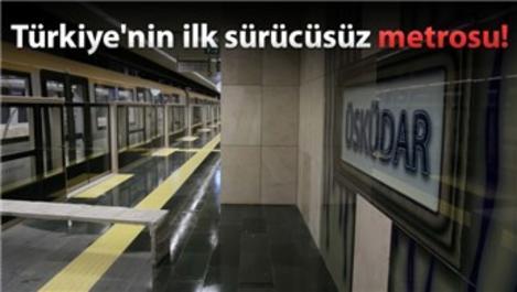 Üsküdar-Sancaktepe metrosunda test sürüşleri başladı