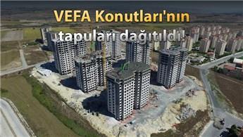 Arnavutköy'de memurlar 800 TL taksitle ev sahibi oldu!
