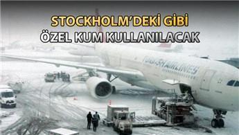 Atatürk Havalimanı'nın pistleri kışın buzlanmayacak!