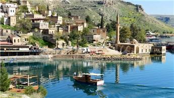 Güneydoğu'nun sakin şehri Halfeti'de hedef 1 milyon turist!