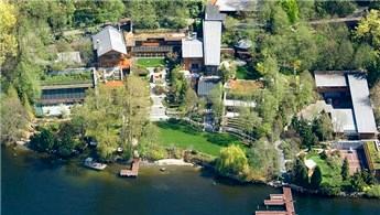 Bill Gates'in 123 milyon dolarlık evi dikkatleri üzerine çekiyor!