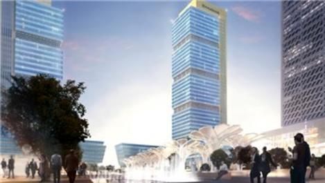 Halk GYO İFM Ofis Blokları'nın inşaat süreci başladı