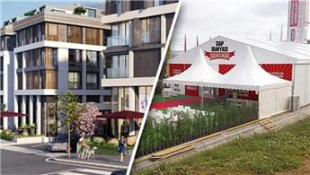 DAP Yapı, çadırda 606 milyon liralık konut sattı