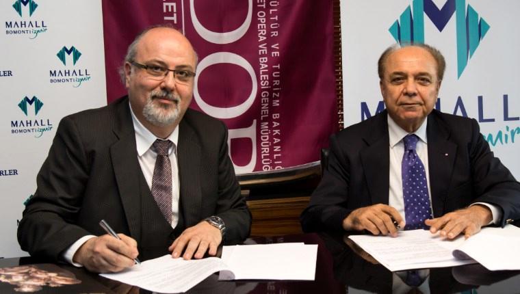 Türkerler, İzmir Devlet Opera ve Balesi'ne sponsor oldu