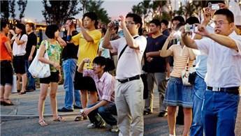 Çinli turistlerin antik kentlere olan ilgisi!