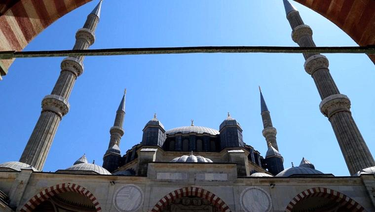 Selimiye Camisi'nin dayanıklılığına bilgisayarlı kontrol!