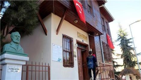 Namık Kemal'in evi tarihe ışık tutuyor!