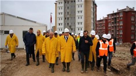 Mehmet Ergün Turan, Karaman'da devam eden projelerini inceledi!