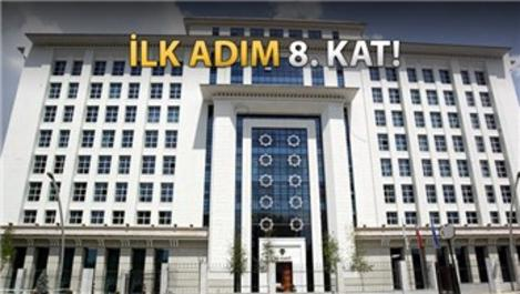 AK Parti'nin 8'inci katı yeniden dizayn edilecek