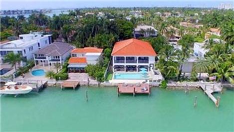 Acun Ilıcalı'nın Miami'deki evin kareler!