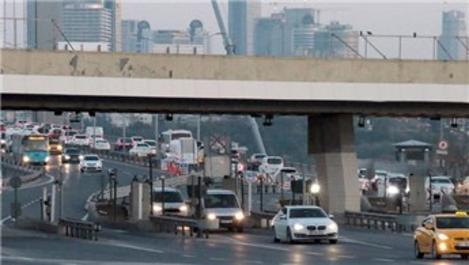 15 Temmuz Şehitler Köprüsü'nde serbest geçiş çalışması!