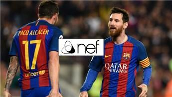 Nef, Barcelona'ya sponsor oldu!