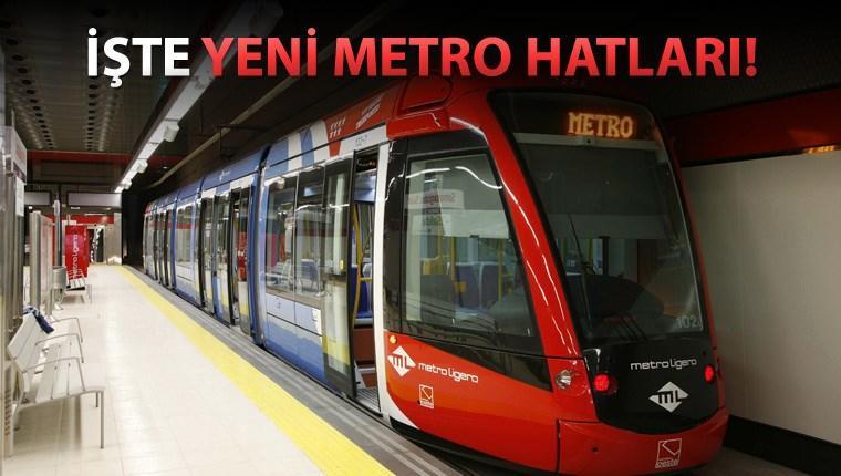 istanbul metroları