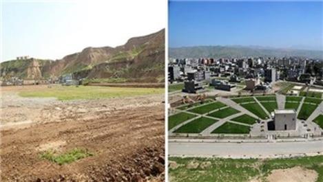 Cizre'ye modern park inşa ediliyor