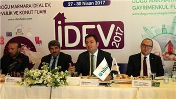 İDEV ve Doğu Marmara Gayrimenkul Fuarı yarın açılacak