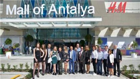 Mall of Antalya AVM kapılarını ziyaretçilerine açtı