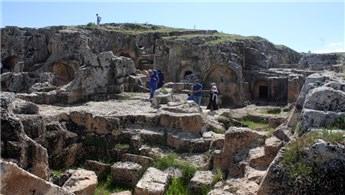 Adıyaman'daki Perre Antik Kenti'ne ilgi arttı!