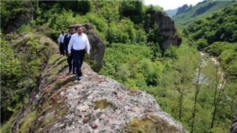 Ordu'nun Karadağ Kanyonu turizme kazandırılacak