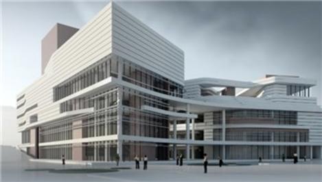 Doğu Garajı Kültür ve Ticaret Merkezi Projesi inşaatı yükseliyor
