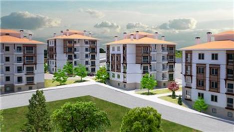 TOKİ'den Konya Bozkır'a yöresel mimarili 112 konut!