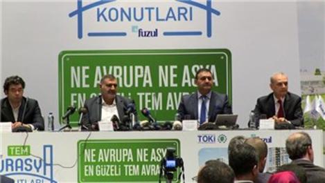 500 milyonluk TEM Avrasya Konutları'na 15 bin talep geldi!