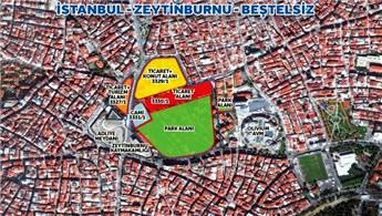Emlak Konut, Zeytinburnu Beştelsiz arsasını satışa açtı!
