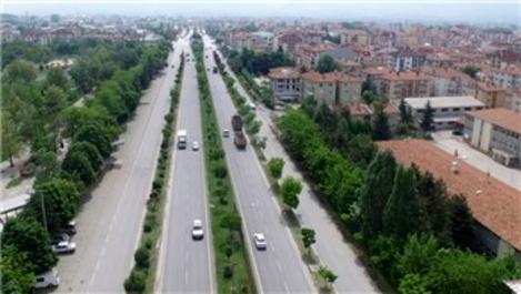 Bolu'da D-100 karayolu 'Yeşil Yol' olacak