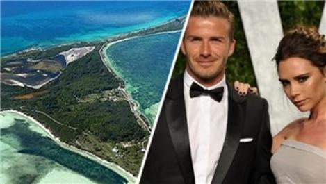 David Beckham'dan 20. yıla 32 milyonluk ada hediyesi!