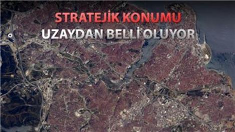 İşte İstanbul'un uzaydan görüntüsü!