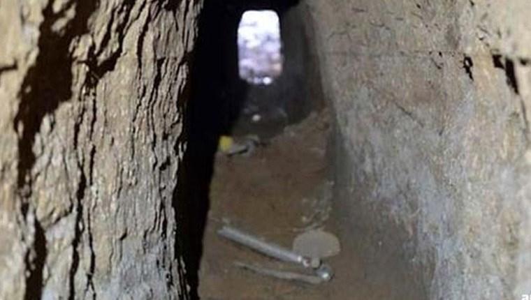 Metro kazısında kuyumcuya açılan tünel bulundu