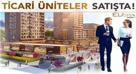 Evora Denizli'de dükkanlar satışa çıkıyor!