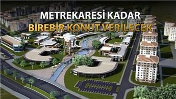 Tozkoparan'da 58 hektarlık alanda dönüşüm başladı