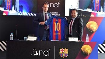 Nef, FC Barcelona'ya sponsor oldu!