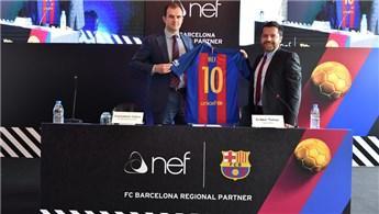 Barcelona'nın 3 yıl boyunca sponsoru Nef olacak!