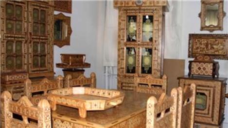 130 parçalık saray mobilyası 25 yılda tamamlandı!