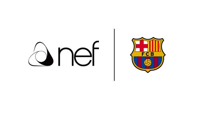 Nef,  FC Barcelona ile sponsorluk anlaşması imzaladı