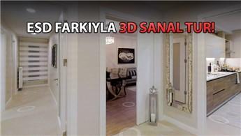 Bizimtepe Aydos'un örnek dairesini 3D görüntüledik