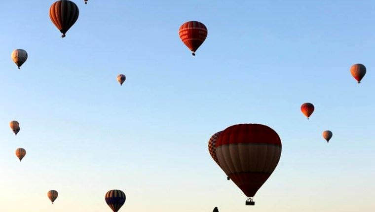 Olumsuz hava şartları balon turlarını etkiledi