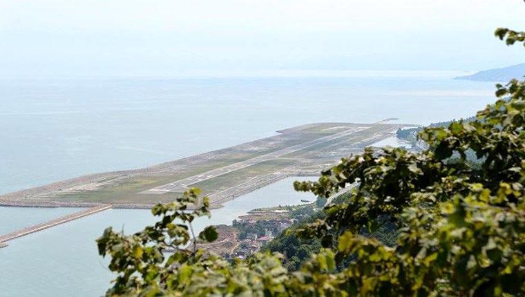 Ordu-Giresun Havalimanı'nı 1 milyon 460 bin kişi kullandı
