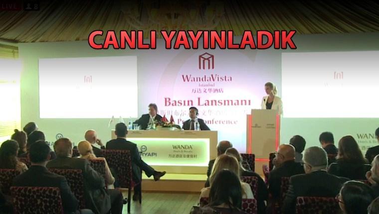 Wanda Vista İstanbul projesi basına tanılıyor