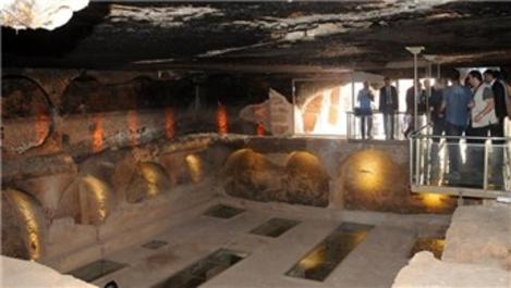 Dara Antik Kenti'ndeki galeri mezar ziyarete açıldı