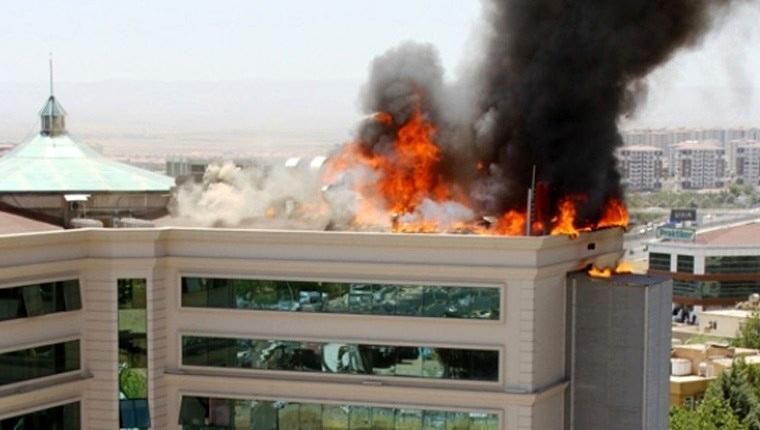'Yapı malzemelerinde yanmaz ürün tercih edilmeli'