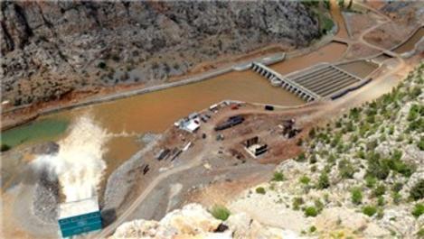 KOP'un önemli adımı olan Mavi Tünel'den su verildi