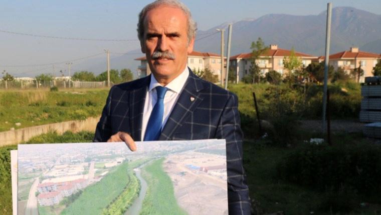 Bursa'da Nilüfer Çayı üzerine köprü projesi!