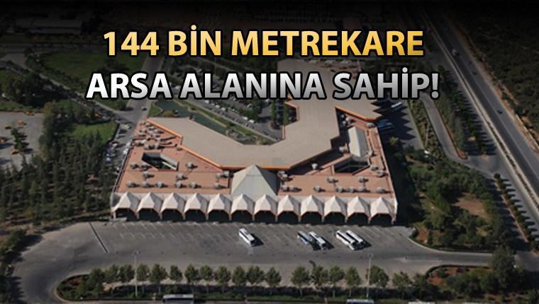 Antalya otogarının arazisi 645 milyon liraya satılıyor!