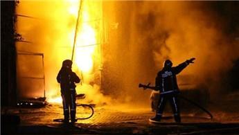Bağcılar'da 9 katlı bir binada yangın çıktı!